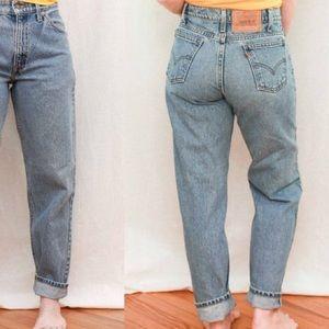 Levi's Orange Tab High Rise 505 Vintage Mom Jeans